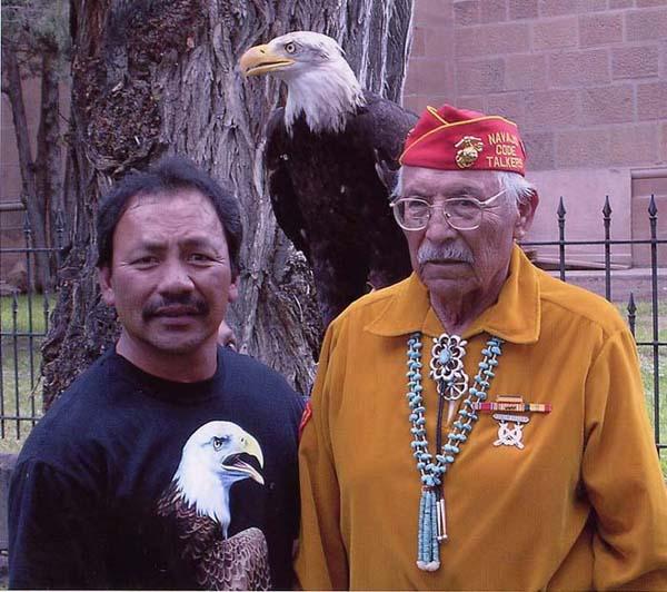 Navajo Code Talker Samuel Nakai Tso